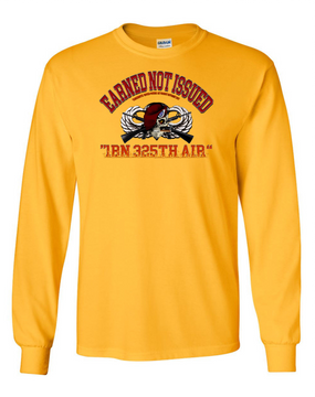 "1-325th ""Earned"" Long Sleeve Cotton Shirt"