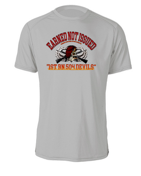 """1-504th """"Earned"""" Cotton T-Shirt"""