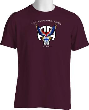 325th Airborne Infantry Regiment Cotton T-Shirt