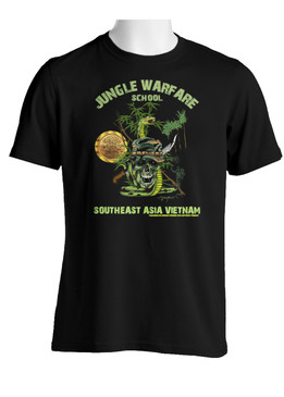 Southeast Asia (Vietnam) Jungle Warfare  Cotton T-Shirt
