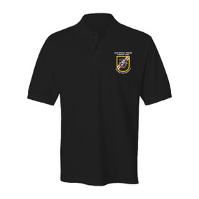 46th Special Forces Group Embroidered Cotton Polo Shirt