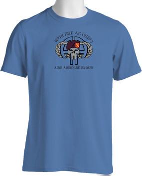 319th Airborne Field Artillery  Moisture Wick Shirt