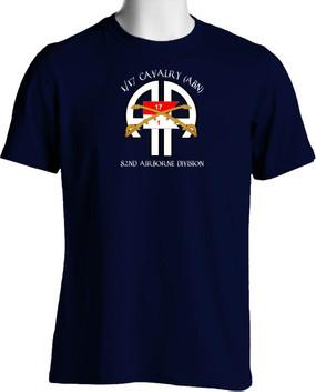 1st Squadron 17th Cavalry Regiment (Airborne)  Cotton Shirt