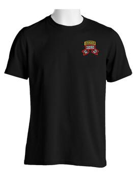 "1-75th Ranger Battalion ""Original Scroll"" w/ Tab Cotton Shirt"