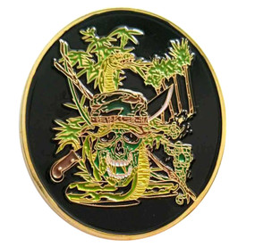 Jungle Master JOTC Challenge Coin