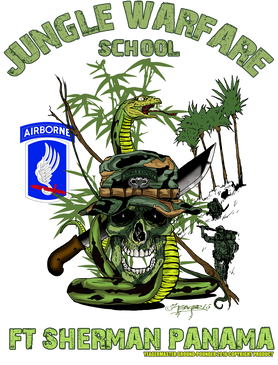 173rd Airborne Brigade Jungle Master Poster