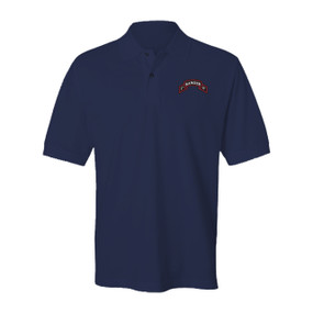 1- 75th Ranger Battalion Embroidered Cotton Polo Shirt