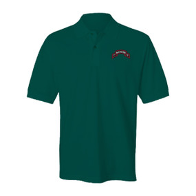 2-75 Ranger Battalion Embroidery Cotton Polo Shirt