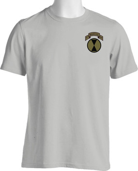 "7th Infantry Division ""Manchus"" (Pocket) Subdued Cotton Shirt"