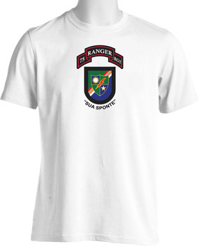 "75th Ranger Regiment ""New Flash"" (Chest) Moisture Wick"