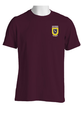 "504th Parachute Infantry Regiment ""Crest & Flash""  (Pocket) Cotton Shirt"
