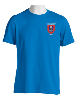 "1-505th Parachute Infantry Battalion ""Crest & Flash"" (Pocket)  Cotton Shirt"