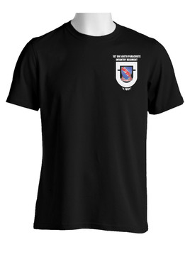 "1-508th Parachute Infantry Battalion  ""Crest & Flash"" (Pocket)  Cotton Shirt"