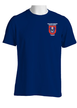 "2-505th Parachute Infantry Battalion  ""Crest & Flash"" (Pocket)  Cotton Shirt"