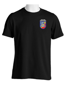 "3- 82nd Aviation ""Crest & Flash"" (Pocket)Cotton Shirt"