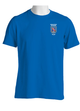 "2- 327th Infantry Regiment ""Crest & Flash""  Cotton Shirt"