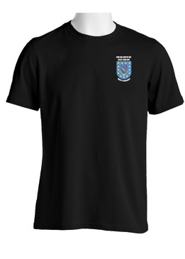 "2-506th Parachute Infantry Regiment ""Crest & Flash""  Cotton Shirt"