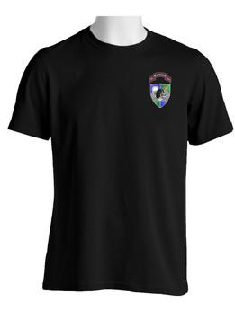 75th Ranger Regiment DUI  (Black Beret)  Cotton Shirt
