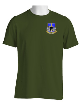 "502nd Parachute Infantry Regiment ""Skull & Beret"" (Pocket) Cotton Shirt"