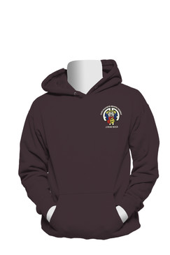 504th Parachute Infantry Regiment Embroidered Hooded Sweatshirt