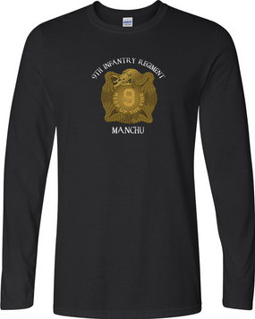 "9th Infantry Regiment ""MANCHUS""  Long-Sleeve Cotton Shirt (FF)"