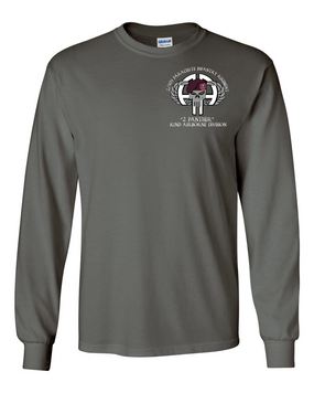 2-505th PIR Long-Sleeve Cotton Shirt (P)