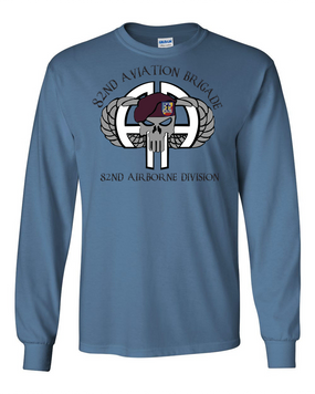 82nd Aviation Brigade Long-Sleeve Cotton Shirt (FF)
