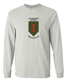 1st Infantry Division Long-Sleeve Cotton Shirt (FF)