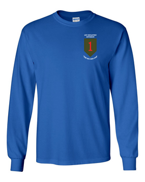 1st Infantry Division Long-Sleeve Cotton Shirt (P)