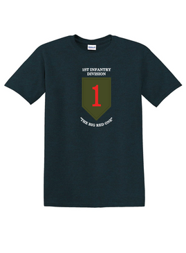 1st Infantry Division Cotton T-Shirt-(FF)