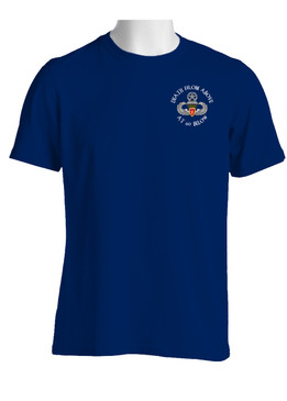 4th Brigade Combat Team (Airborne)  Cotton T-Shirt-(P)