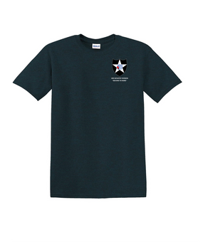 2nd Infantry Division Cotton T-Shirt-(P)