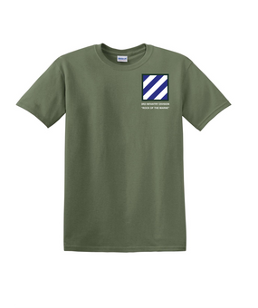 3rd Infantry Division Cotton T-Shirt-(P)