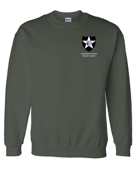 2nd Infantry Division Embroidered Sweatshirt