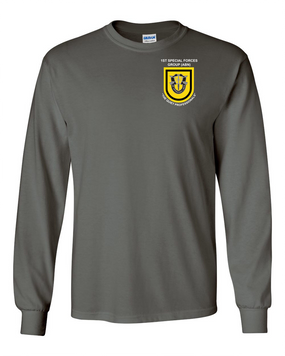 1st Special Forces Group Long-Sleeve Cotton Shirt