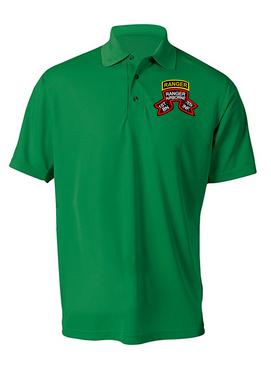 "1-75 Ranger Battalion ""Original Scroll"" w/Ranger Tab  Embroidered Moisture Wick Shirt (Paragon)"