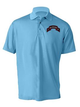 3-75 Ranger Battalion Embroidered Moisture Wick Shirt (Paragon)
