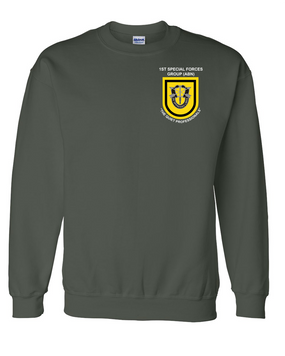 1st Special Forces Group Embroidered Sweatshirt