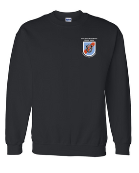 20th Special Forces Group Embroidered Sweatshirt