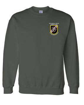 46th Special Forces Group Embroidered Sweatshirt