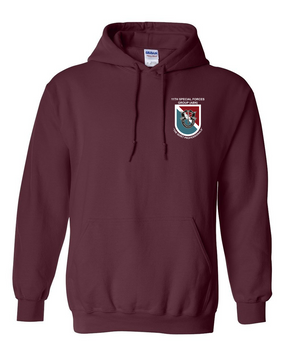 11th Special Forces Group  Embroidered Hooded Sweatshirt