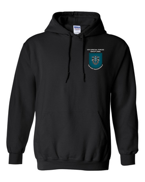 19th Special Forces Group  Embroidered Hooded Sweatshirt