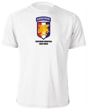Southern European Task Force (SETAF) Moisture Wick Shirt -(FF)
