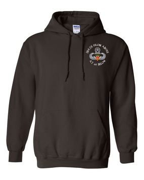 4th Brigade Combat Team (Airborne) Embroidered Hooded Sweatshirt