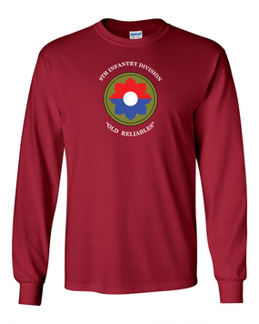 9th Infantry Division Long-Sleeve Cotton Shirt (FF)