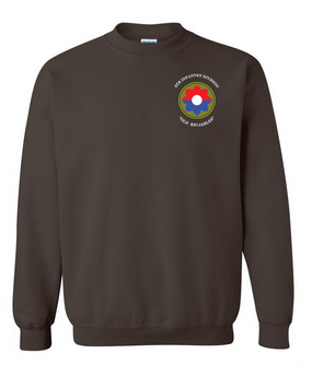 9th Infantry Division Embroidered Sweatshirt