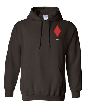 5th Infantry Division Embroidered Hooded Sweatshirt