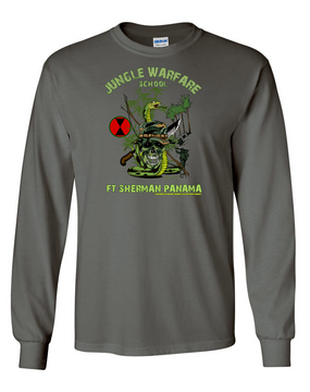 7th Infantry Division Jungle Master Long-Sleeve Cotton Shirt