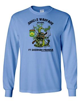 16th Military Police Brigade Jungle Master Long-Sleeve Cotton Shirt