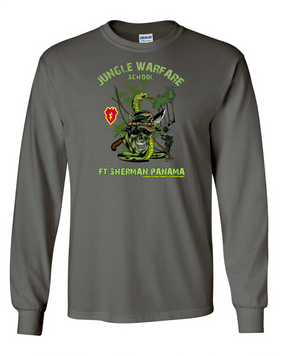25th Infantry Division Jungle Master Long-Sleeve Cotton Shirt